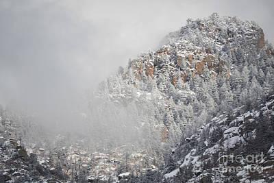 Photograph - Sandia Mountains Storm Peak by Andrea Hazel Ihlefeld
