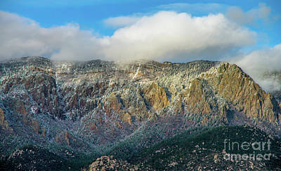 Photograph - Sandia Moutains 3 by Steve Whalen