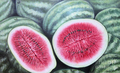 Painting - Sandias by Sonia Flores Ruiz