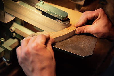 Photograph - Sanding The Handle by Jean Gill
