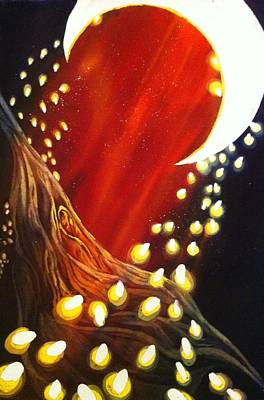 Painting - Sandman's Visit by Starr Weems