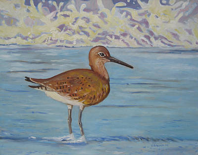 Painting - Sandpiper by D T LaVercombe