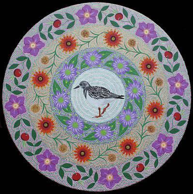 Painting - Sandpiper Mandala by Amanda Lynne