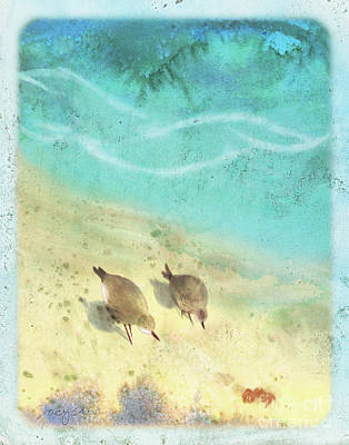 Sandpiper Summer Original by Tracy Herrmann
