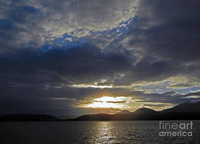 Photograph - Sandpoint Id Sunset by Cindy Murphy - NightVisions