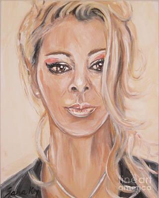 Painting - Sandra by Oksana Semenchenko