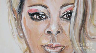 Painting - Sandra Painting156/18/18 by Oksana Semenchenko