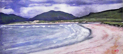 Painting - Sands, Harris by Richard James Digance
