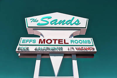 Photograph - Sands Motel by Jerry Golab