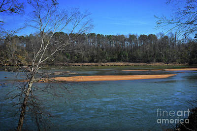 Sc Waterfalls Photograph - Sands Of The Congaree by Skip Willits