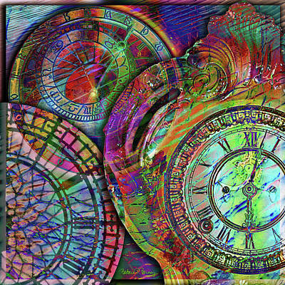Digital Art - Sands Of Time by Barbara Berney