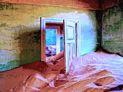 Passage Of Time Mixed Media - Sands Of Time by Dominic Piperata