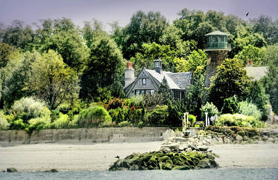 Photograph - Sands Point Lighthouse by Diana Angstadt
