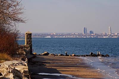 Photograph - Sands Point Shore 1 by Steve Breslow