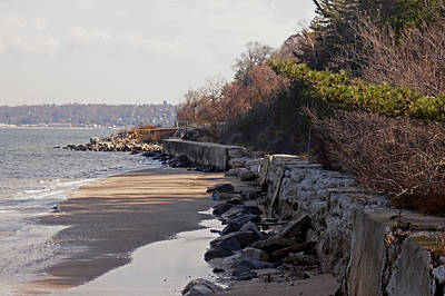 Photograph - Sands Point Shore 2 by Steve Breslow