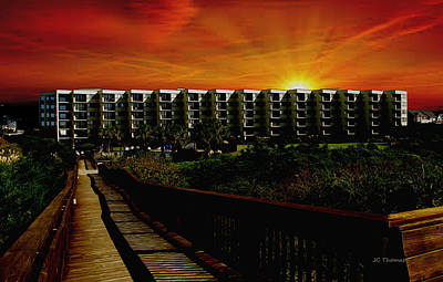 Photograph - Sands Villa Condos by James C Thomas