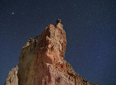Photograph - Sandstone And Stars by Art Cole