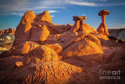 Toadstool Photograph - Sandstone Castle by Inge Johnsson