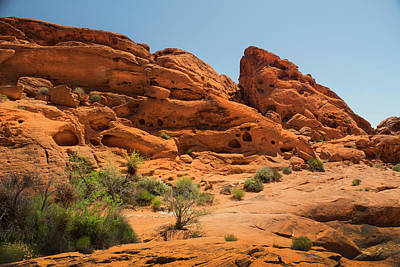 Photograph - Sandstone Caves Valley Of Fire by Frank Wilson