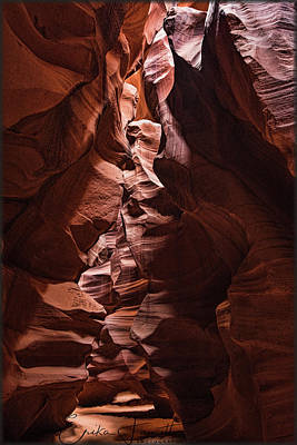 Photograph - Sandstone Curves by Erika Fawcett