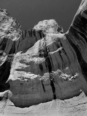 Photograph - D14468-dc-bw-sandstone Desert Varnish  by Ed  Cooper Photography