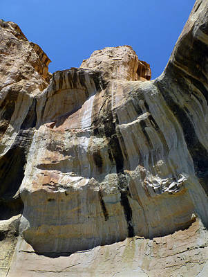 Photograph - D14468-dc-sandstone Desert Varnish  by Ed  Cooper Photography