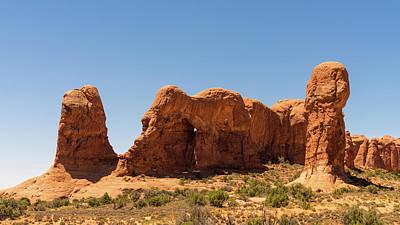 Photograph - Sandstone Elephant Arches National Park Utah by Lawrence S Richardson Jr