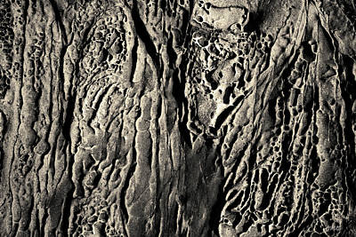 Photograph - Sandstone Erosion I Toned by David Gordon