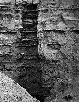 Photograph - Sandstone Erosion by Nadalyn Larsen