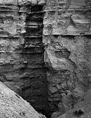 Photograph - Sandstone Erosion by Nadalyn Larsen