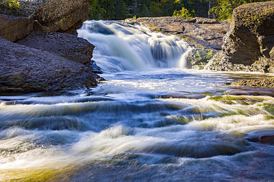 Photograph - Sandstone Falls by Jack R Perry