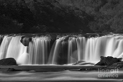 Photograph - Sandstone Falls Silky Stream by Dan Friend