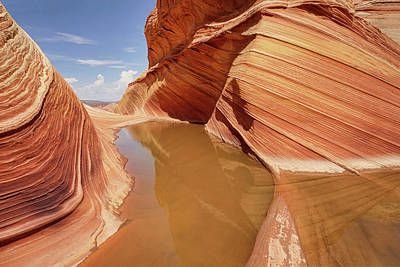 Photograph - Sandstone Formations by Leda Robertson