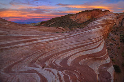 Slickrock Photograph - Sandstone Glory by Christian Heeb