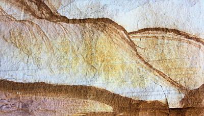 Photograph - Sandstone Hills by Kristin Elmquist