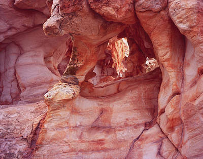Photograph - Sandstone Labyrinth by Tom Daniel