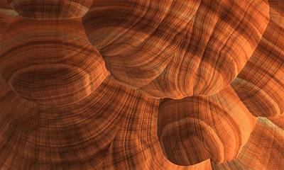 Digital Art - Sandstone by Lyle Hatch