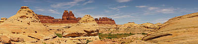 Photograph - Sandstone Panorama Glen Canyon National Recreation Area by Lawrence S Richardson Jr