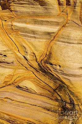 Photograph - Sandstone S01 by Werner Padarin