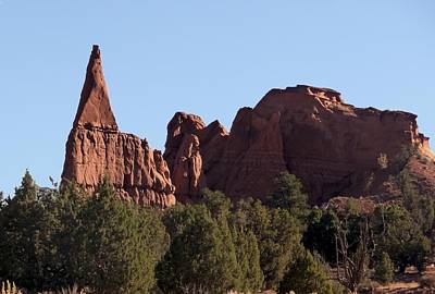 Photograph - Sandstone Spire And Monolith by NaturesPix