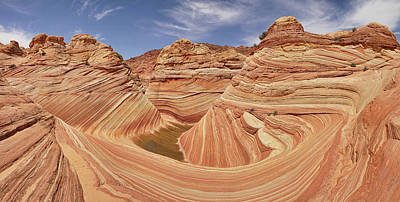 Photograph - Sandstone Symmetry by Leda Robertson