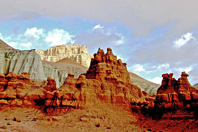 Photograph - Sandstorm In Campground In Goblin Valley State Park, Utah by Ruth Hager