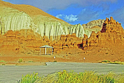 Photograph - Sandstorm In The Campground In Goblin Valley State Park, Utah by Ruth Hager