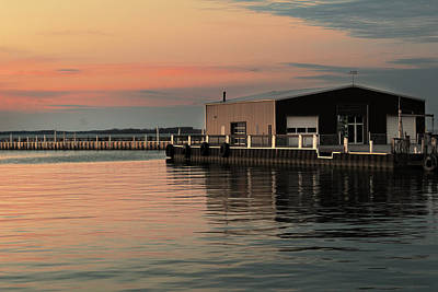 Photograph - Sandusky Bay Reflections 3 by Shawna Rowe