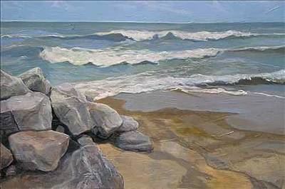 Painting - Sandusky Shallow by Denise Ivey Telep