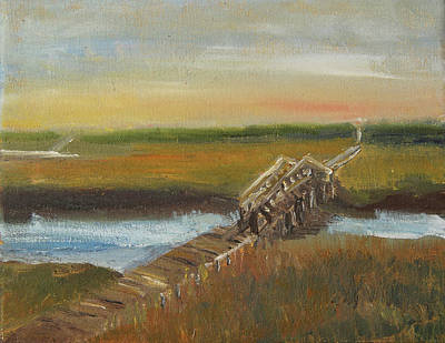 Painting - Sandwich Boardwalk by Michael Helfen