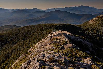 Photograph - Sandwich Range From Mount Chocorua by Benjamin Dahl