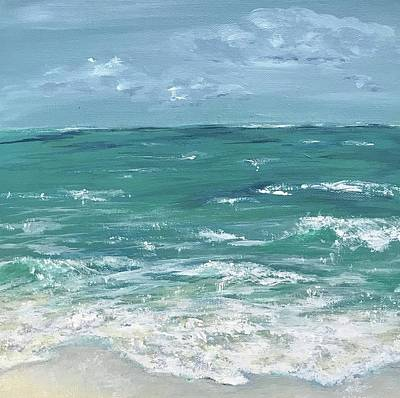 Painting - Sandy Beach by Analisa Chase