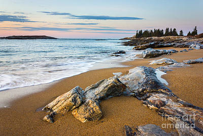 Mid-coast Maine Photograph - Sandy Beach At Reid by Benjamin Williamson