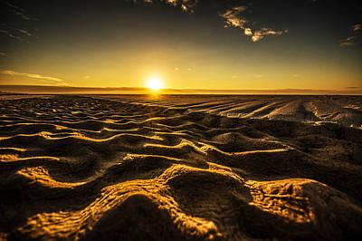 Photograph - Sandy Beach Patterns by Michael Thomas